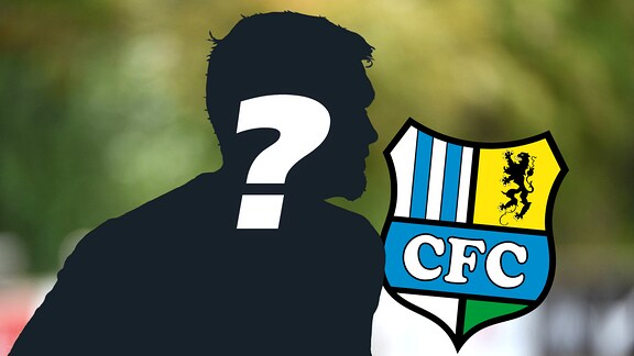 CFC-Trainer als Schattenbild mit Fragezeichen