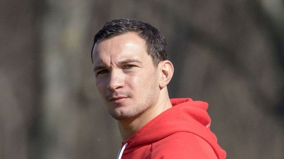 Daniel Ziebig als Betreuer der HFC-A-Junioren