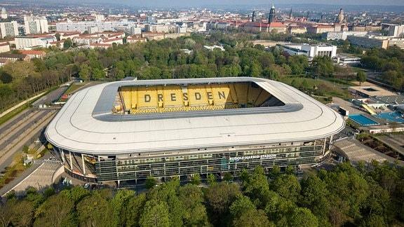 Rudolf-Harbig-Stadion in Dresden