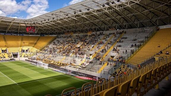 Rudolf-Harbig-Stadion von Dynamo Dresden