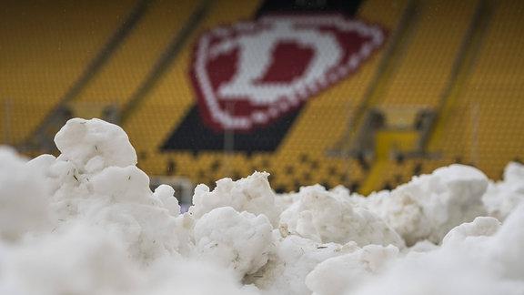 Schnee und Dynamologo