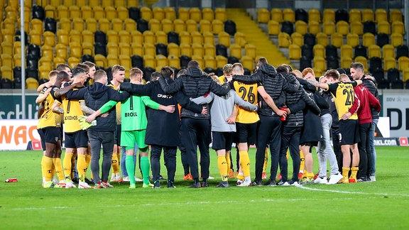 Spielerkreis der Spieler von Dynamo Dresden