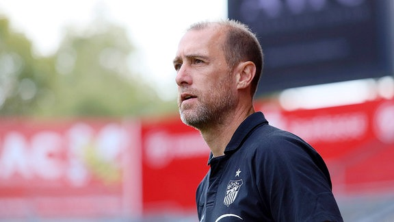 Cheftrainer Joe Enochs (Zwickau)