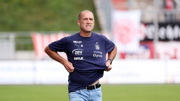 Trainer Joe Enochs, FSV Zwickau