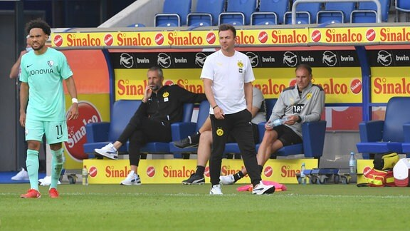 Enrico Maaßen (Trainer Borussia Dortmund II)