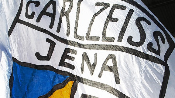 Fahne FC Carl Zeiss Jena