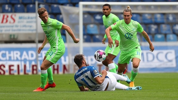 VfL Wolfsburg vs. FC Magdeburg