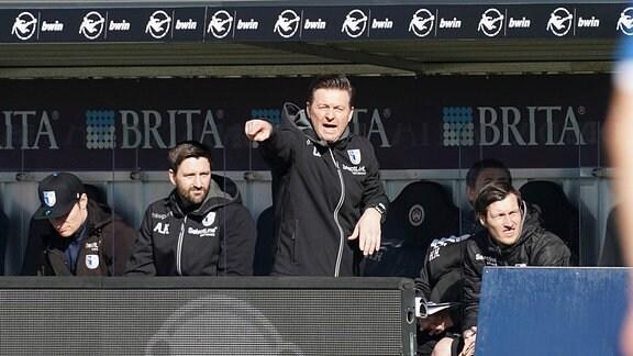 Wehen - Magdeburg: FCM-Trainer Christian Titz