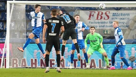 1. FC Magdeburg - FC Hansa Rostock (25.11.2020, 1:1)