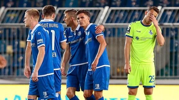 Petar Sliskovic (MSV Duisburg, 25) ist enttäuscht