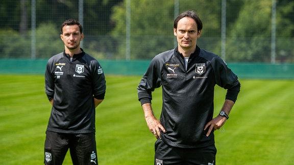 Neuer Trainer für die letzten 8 Spieltage des HFC ist Florian Schnorrenberg und Co-Trainer ist Daniel Ziebig