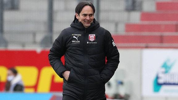 Florian Schnorrenberg (Trainer Hallescher FC)