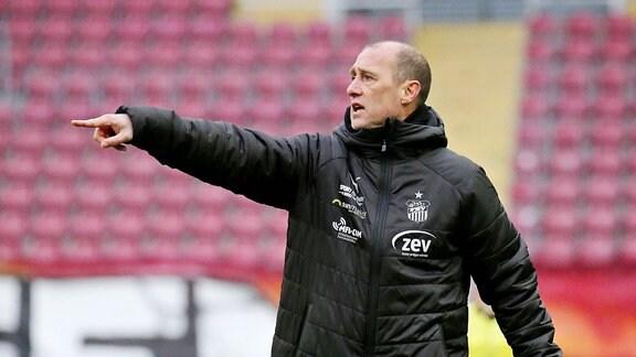 Joe Enochs (Trainer FSV Zwickau)