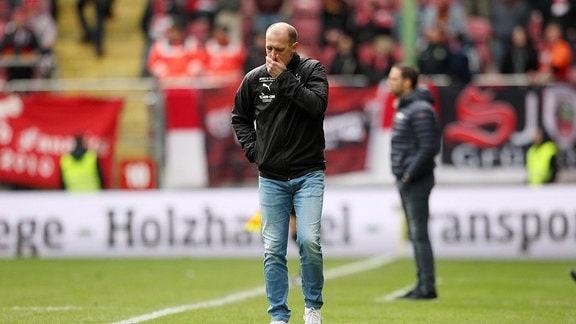 Joe Enochs, der Trainer von FSV Zwickau