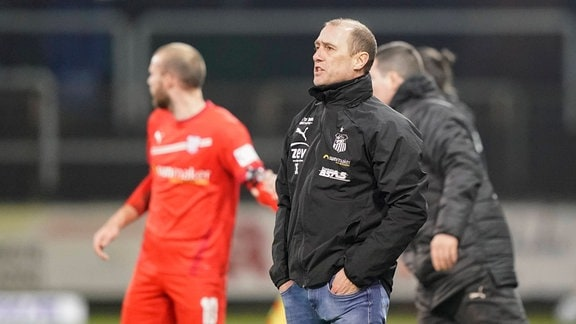 Joe Enochs (Trainer FSV Zwickau)