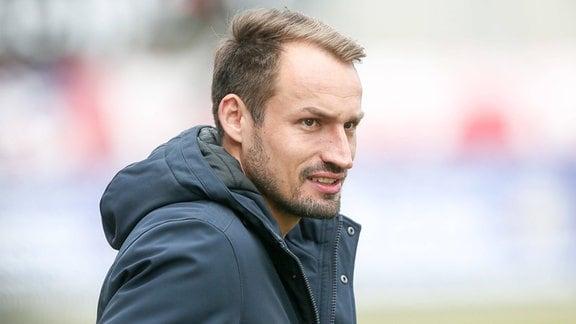 Sportdirektor Toni Wachsmuth Zwickau