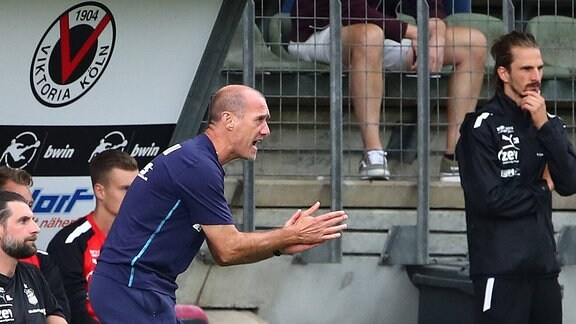 Trainer Joseph Enochs Zwickau