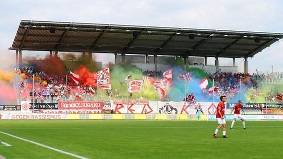 Fans von FSV Zwickau