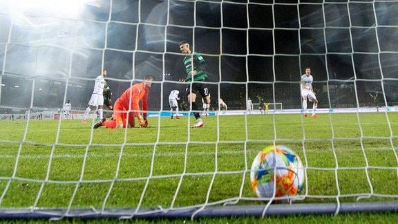 SC Preußen Münster vs. 1. FC Magdeburg Tor zum 1:0 von Rufat Dadashov Münster
