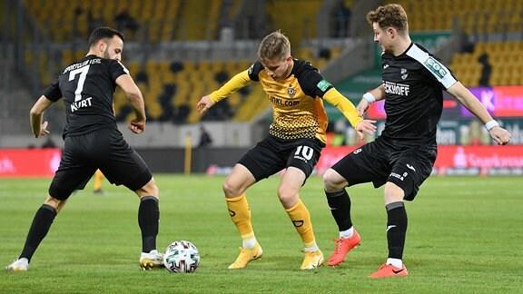 Mehmet Kurt, Patrick Weihrauch und Julian Schwermann