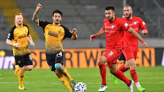 Philipp Hosiner gegen Davy Frick
