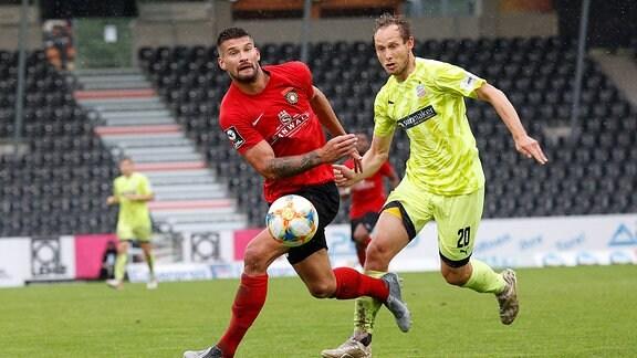 Kai Brünker gegen Ren Lange
