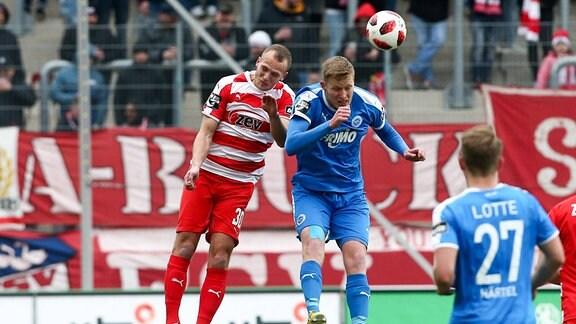 Julius Reinhardt (30, Zwickau) und Gerrit Wegkamp (13, Lotte)