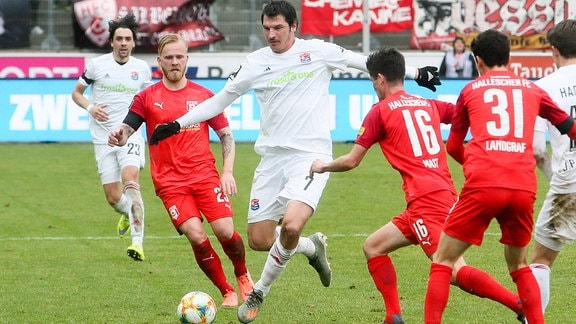 Marcel Hilßner, Dominik Stroh-Engel und Dennis Mast