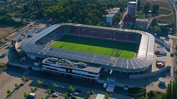 ERDGAS Sportpark des HFC