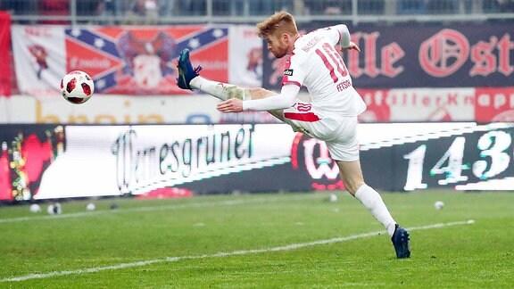 Hallescher FC gegen Carl Zeiss Jena