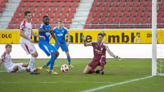 HFC Hallescher FC vs. VfL Sportfreunde