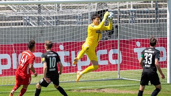 Tim Schreiber, Torward beim Halleschen FC