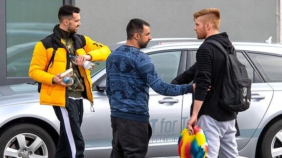 Ismail Atalan im Gespräch mit Kai Eisele und Mathias Fetsch