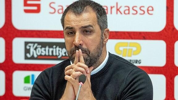 Präsentation des neuen Trainers Ismail Atalan beim HFC