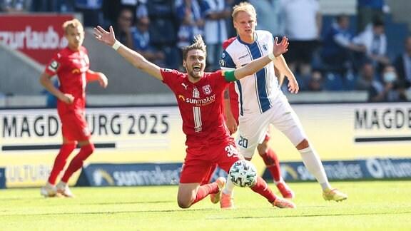Jonas Nietfeld, Hallescher FC