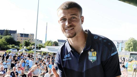 Kilian Pagliuca (Neuzugang Chemnitzer FC)