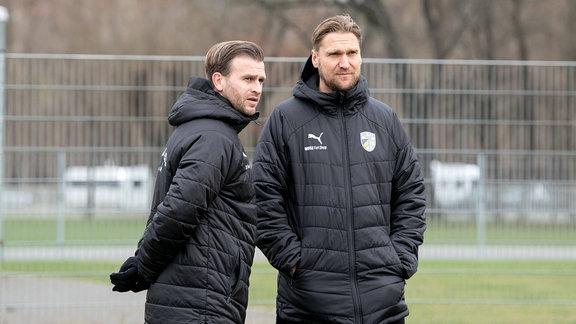 René Klingbeil und Kenny Verhoene