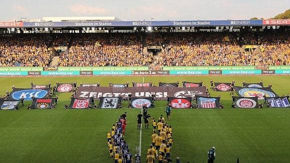 Eröffnungszeremonie Start der 3.Liga