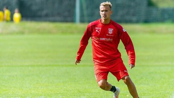 Lukas Boeder, Hallescher FC