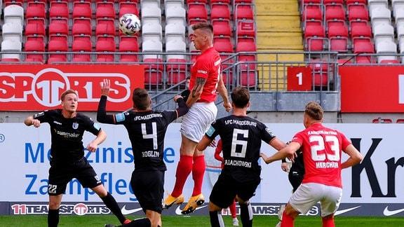1. FC Kaiserslauterngegen den 1. FC Magdeburg