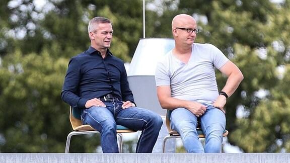 Thomas Hoßmang und Mario Kallnik