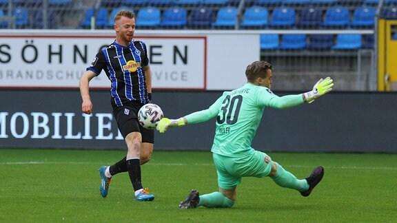 Tor zum 1:0 durch Dominik Martinovic