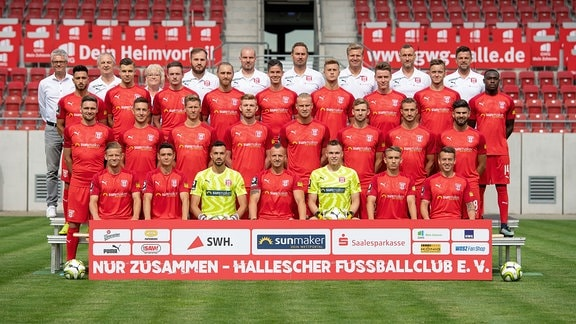 Mannschaftsfoto Hallescher FC