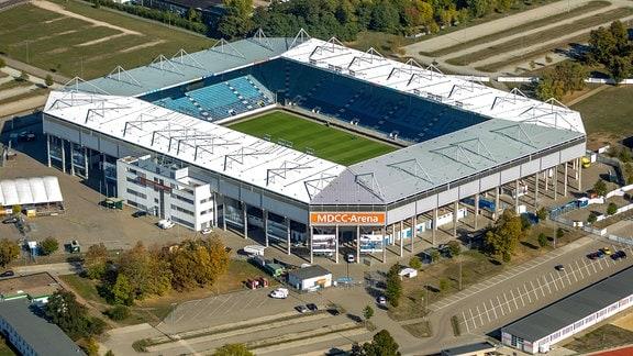Stadion des 1. FC Magdeburg e. V.