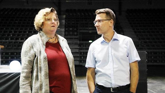 Annette Neuerburg und Andreas Georgi