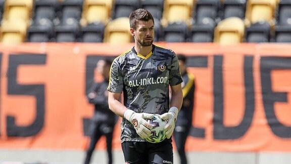 Torwart Patrick Wiegers,, Dynamo Dresden