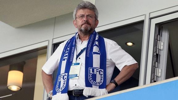 Peter Fechner, Präsident 1. FC Magdeburg
