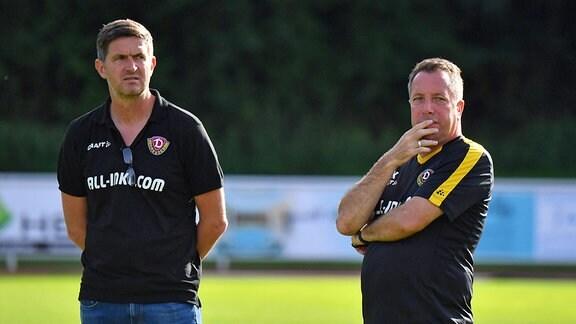 Ralf Becker und Markus Kauczinski