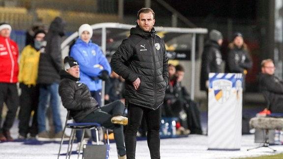 René Klingbeil (Interimstrainer FC Carl Zeiss Jena)