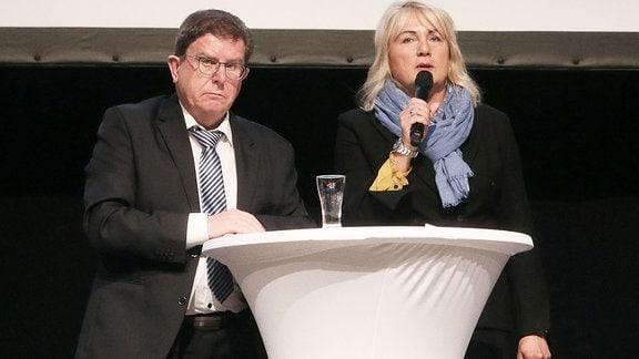 Siegfried Rümmler und Romy Polster